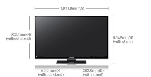 samsung ps 43e450 43 multi system plasma tv ps43e450 world import