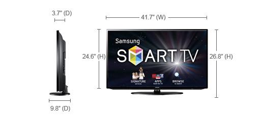 samsung ua 46eh5306 46 multi system world wide smart led tv ua46eh5306 46eh5306 ua. Black Bedroom Furniture Sets. Home Design Ideas