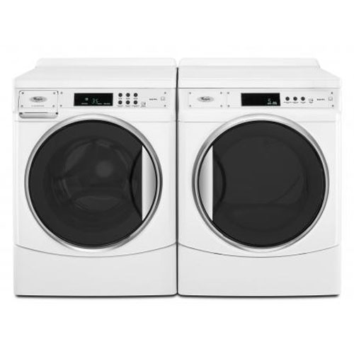 Whirlpool 9100 Series 220 Volt 50 Hz Washer and Dryer Set