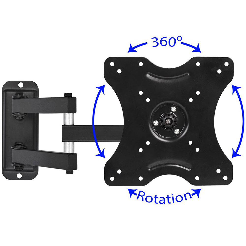 """3 Way Wall Mount for TVs 19"""" to 40"""""""