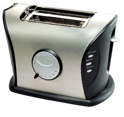 Frigidaire FD3111 220 Volt 2 Slice Stainless Steel Toaster