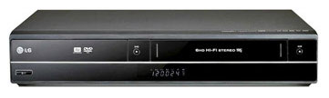 LG DVRK898 Region Free DVD Recorder and VCR