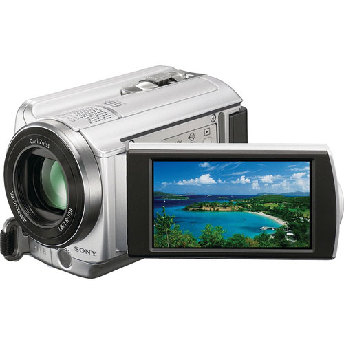 Sony DCR-SR68E 80GB Handycam PAL Camcorder-Silver