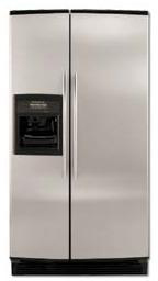Whirlpool 220-240 Volt 50 Hertz Side by Side With Ice and Water Stainless 6GD25DCXHS