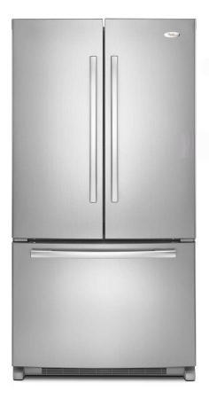 Whirlpool 6GX0FHDXXY 220 Volt 50 Hertz French Door Refrigerator