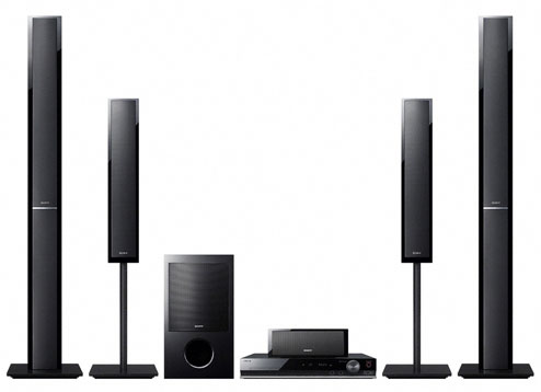 Sony DAVDZ810 DVD Home Theatre System World Import