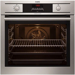 AEG BP5003001M 220-240 Volt/ 50 Hz Built in Oven with Circular Heater