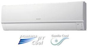 SHARP 220-240 Volt 50 Hertz 24000 BTU Split Air Conditioner AH24