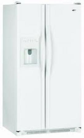 Amana AC2225GEKW 220-240 Volt 50 Hertz 23 cu.ft. Side by Side Refrigerator