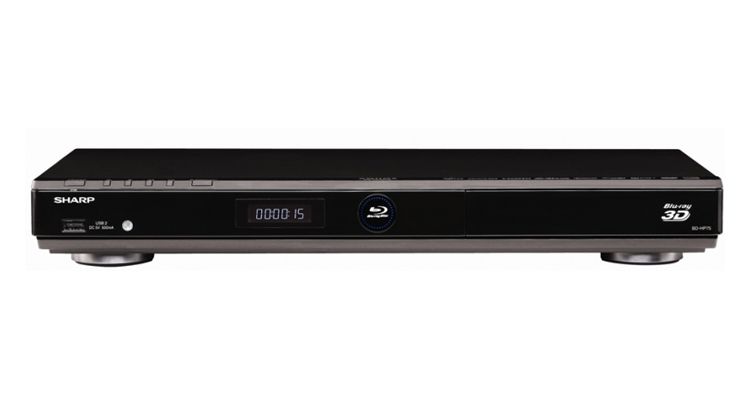 Sharp 3-D BD-HP75 Region Free Blu-Ray Player
