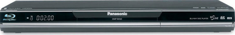 Panasonic DMP-BD60 Region Free DVD / Region A Blu Ray Player