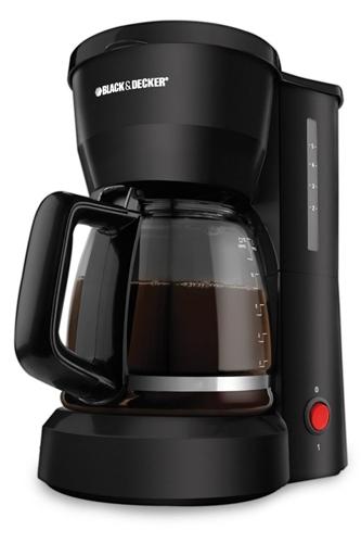 Black and Decker DCM601B 220 Volt 50 Hz 5 Cup Coffee Maker