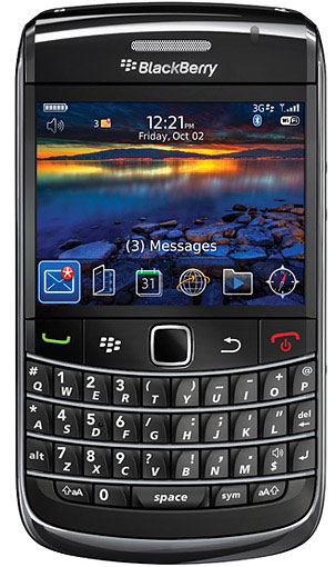 Black Berry 9700 Bold 2 GSM phones