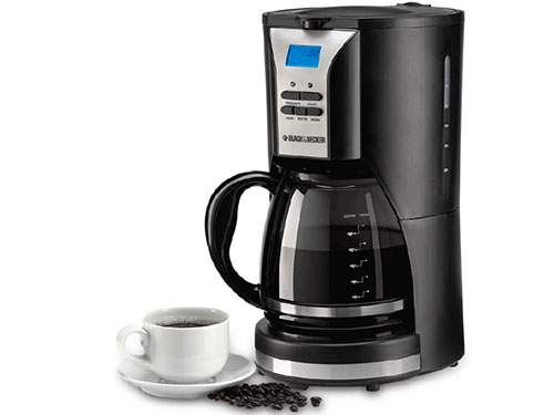 Black and Decker DCM90 220 volt 1000 watt Programmable Coffee Maker