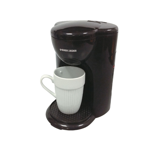 Black and Decker DCM25 1 Cup Coffee Maker - 220 240 Volt 50 Hz - 330 Watt Power - Compact Design