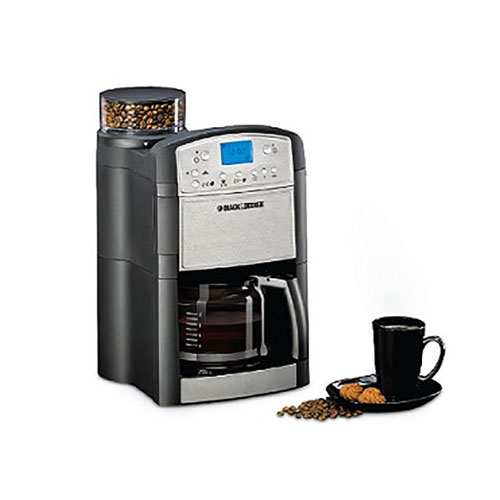 Black and Decker PRCM500-B5 220 Volt 240 Volt 50 Hz Programmable Coffee Maker