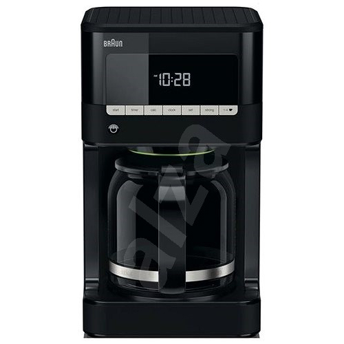 Braun KF7020 220-240 Volt 50 Hz 12 Cup 1000 watt and LCD Display with 24 hour timer - World Import