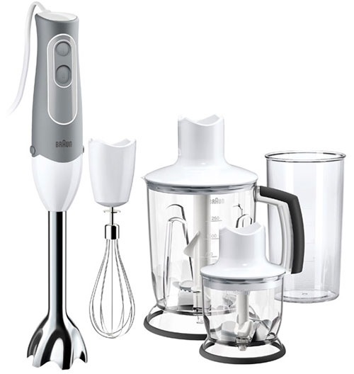 Braun MQ545 220-240 Volt 50 Hz Hand Blender with Chopper