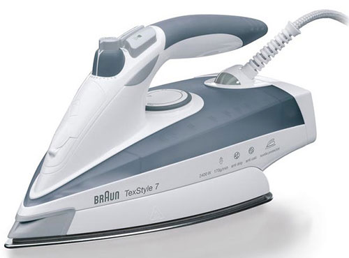 Braun TS-775 220-240 volt 50 Hz Iron