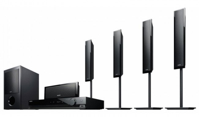 Sony DAV-TZ715 Region Free PAL/NTSC Home Theater System