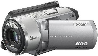 Sony DCR-SR100E PAL Digital Handy Cam 30GB Camcorder