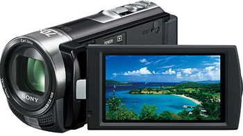 Sony DCR-SX45EBK PAL Camcorder with 60X Optical Zoom Black