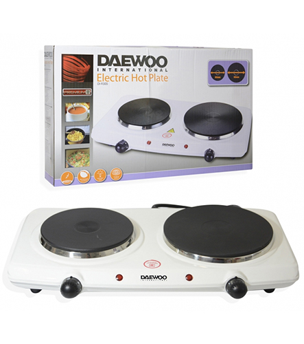 Daewoo DI-9305 220 240 Volt 50 Hz Double Electric Hot Plate
