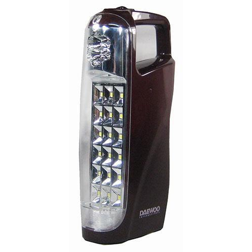 Daewoo DRL-1017S 220 240 Volt 50 Hz Rechargeable Emergency Flashlight LED Lantern