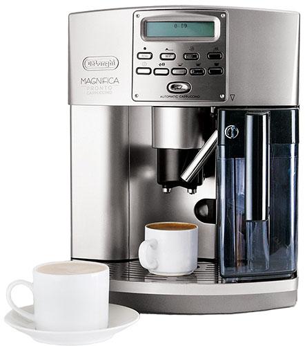Как сделать капучино в кофемашине делонги магнифика с