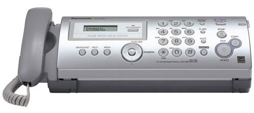 Panasonic KX-FP205 Dual Voltage Fax Machine