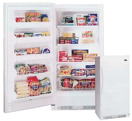Frigidaire MUFD17V8GW 220-240 Volt 50 Hertz Freezer