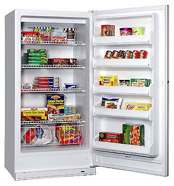 Frigidaire MUFF17V6HW 220-240 Volt 50 Hertz Freezer