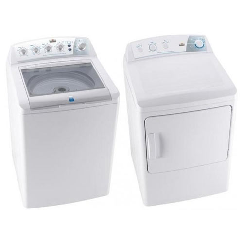 Frigidaire / Electrolux MLTU12GGAWB & MKRN13GAWAWB 220 Volt 240 Volt 50 Hz Washer and Dryer Set
