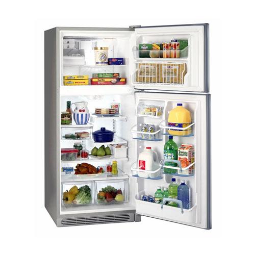 Frigidaire GLTT20V8MW 220 Volt 240 Volt 18.2 Cu Ft White Top Mount Refrigerator