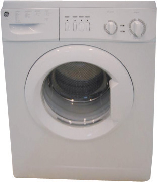Ge Gewd14e8ep 220 240 Volt 50 Hertz White Washer Dryer