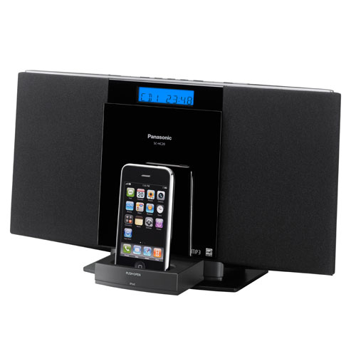 Panasonic SC-HC20 CD Stereo System With Ipod Dock, Works