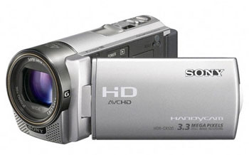 Sony HDR-CX130ES Full HD PAL Camcorder with 30X Optical Zoom Silver