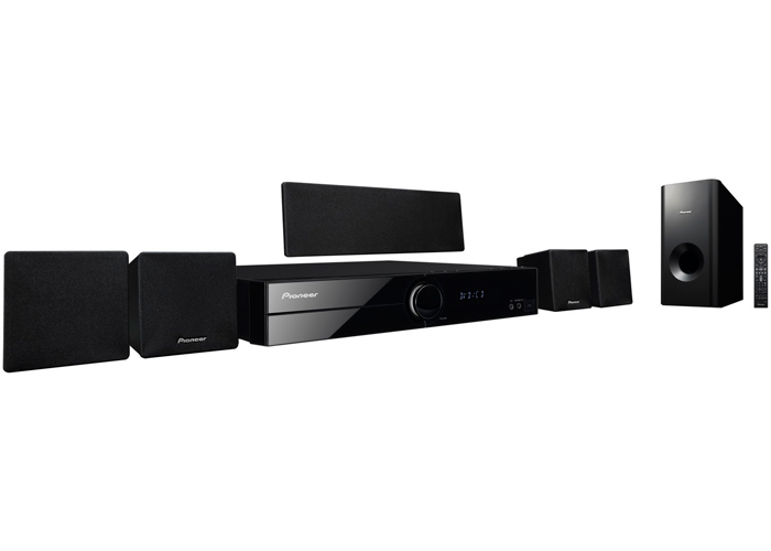 Pioneer HTZ-101DVD Region Free Home Theatre System with Built-in Converter
