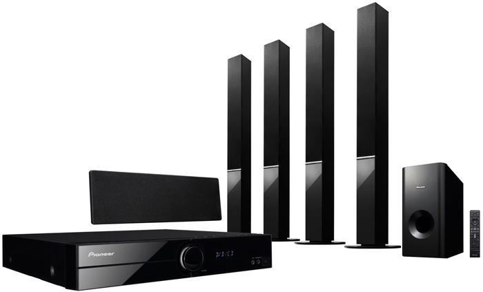 Pioneer HTZ-202DVD Region Free Home Theatre System with Built-in Converter