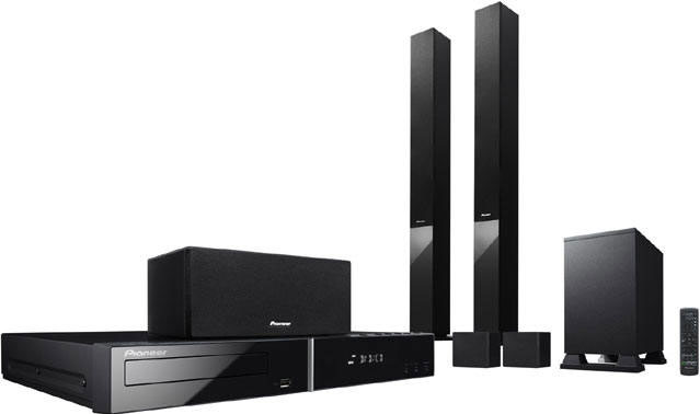 Pioneer HTZ-280DVD Region Free Home Theater System