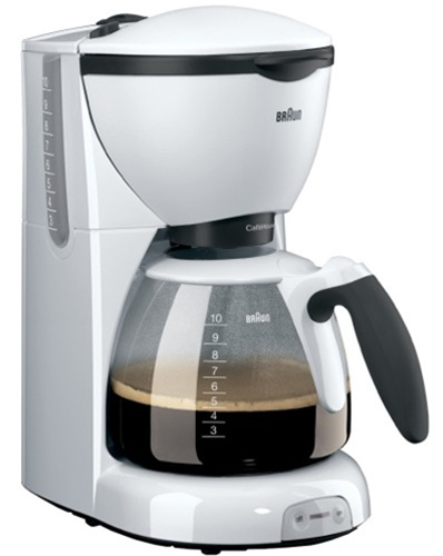 Braun KF520 220-240 Volt 50 Hz White Color Coffee Maker