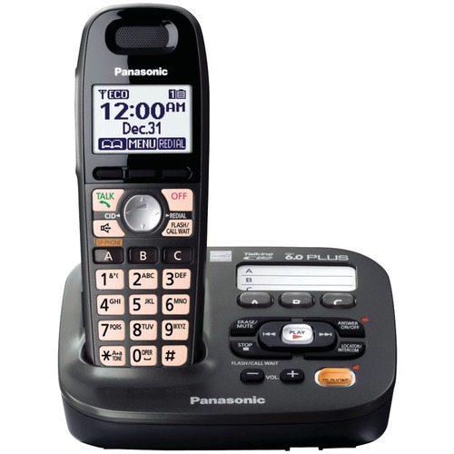 Panasonic KX-TG6591T-220 one handset 220-240 volts 50/60 hz cordless phone