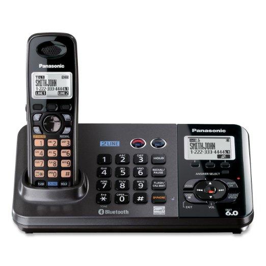 Panasonic KX-TG9381T-220 one handset 220-240 volts 50/60 hz cordless phone