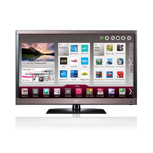 "LG 42LW5700 42"" 110 Volt 220 Volt PAL NTSC SECAM Multi System SMART 3D LED TV"