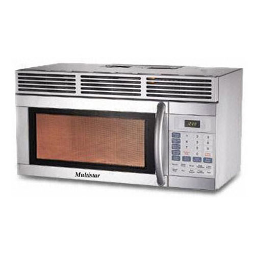 Multistar® MH39S1000SH Large Size 39 Liter/1.4 Cu Ft Over the Range Microwave
