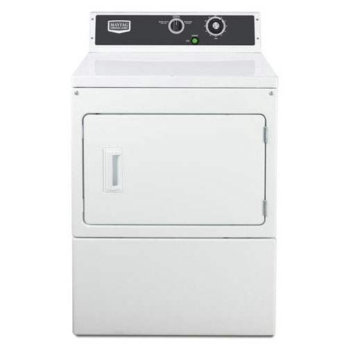 Maytag MDE18MNAGW 220 Volt 240 Volt 50 Hz Commercial Super Capacity Gas Dryer