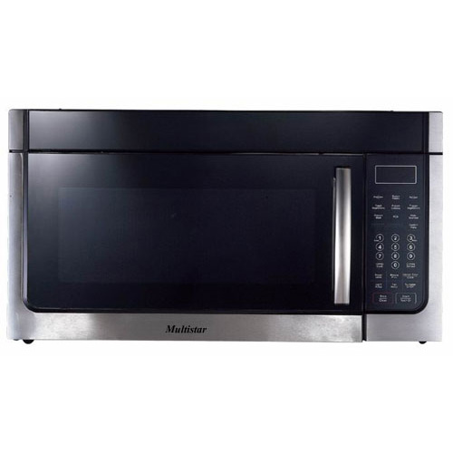 Multistar® MH45S1000SH 220-240 Volt 50 Hz 1.6 Cu Ft Over The Range Microwave Oven