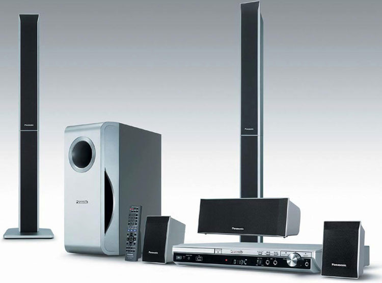 panasonic home theater. Panasonic SC-PT250 Region Free DVD Home Theatre System Theater