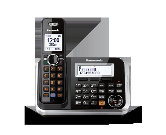 Panasonic KX-TG6841 One Handset 220-240 volts 50/60 hz Cordless Phone