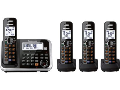 Panasonic KX-TG6844 Four Handsets 220-240 volts 50/60 hz Cordless Phone